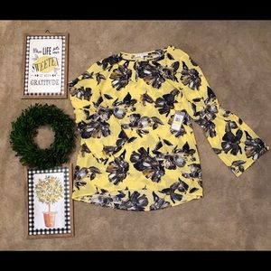 Chaus floral top from Belk